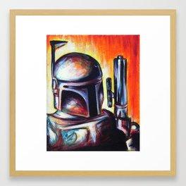 It's a Trap! Part 1: Boba Fett Framed Art Print