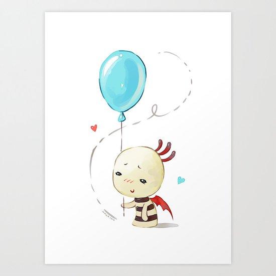 Balloon 2 Art Print