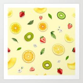 Mixed Fruit 18 Art Print