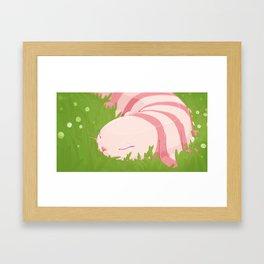 Lagopede Framed Art Print