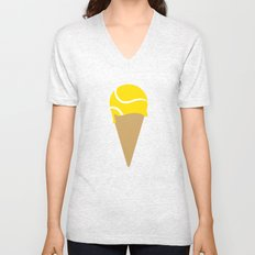 Tennis Ice Cream Unisex V-Neck