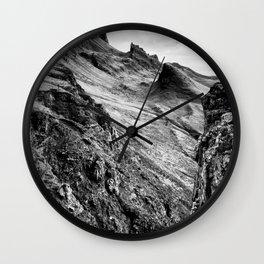 The Quiraing 2 Wall Clock
