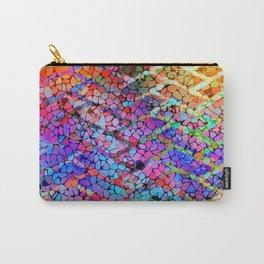 Wonderland Brick Pattern Carry-All Pouch