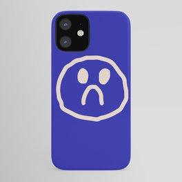 l'amour en bleu iPhone Case
