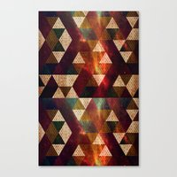 polygon Canvas Prints featuring Polygon by Tony Vazquez