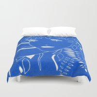 fern Duvet Covers featuring FERN by Andrea Jean Clausen - andreajeanco