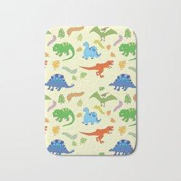 Dinosaur Pattern Bath Mat