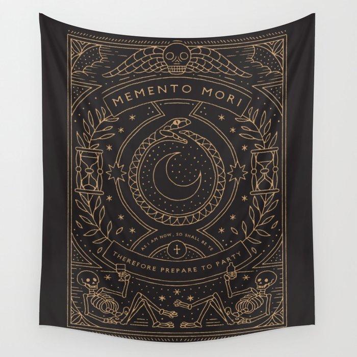 Memento Mori - Prepare to Party Wall Tapestry