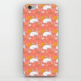 Catbird Seat iPhone Skin