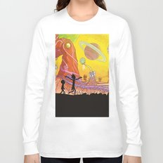 Rick and Morty - Silhouette Long Sleeve T-shirt