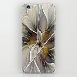 Floral Abstract, Fractal Art iPhone Skin