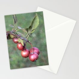 Crabapples into the wild Stationery Cards