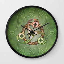 Wonderful celtic knotwork Wall Clock