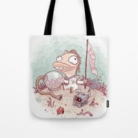 spaceman Tote Bags featuring Spaceman by StarFil