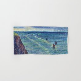Camaret Fishing Boats on the French Coast by Maximilien Luce Hand & Bath Towel