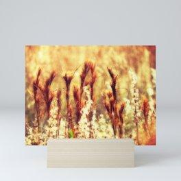 Nature's Paintbrushes Mini Art Print
