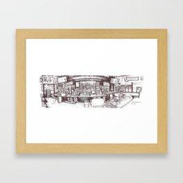 G St Wunderbar, Davis CA Framed Art Print