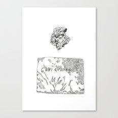 Gruta do Maquiné Canvas Print