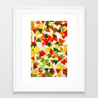 the lights Framed Art Prints featuring Lights by SensualPatterns