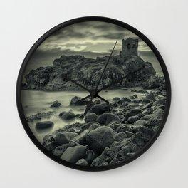 Kinbane Castle III Wall Clock