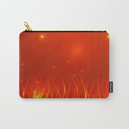 Flames from the fire and spark. Carry-All Pouch