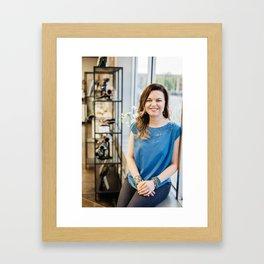 Artists In Jackson: Cassandra Spicer Framed Art Print