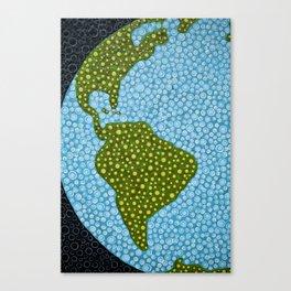 worldly Canvas Print