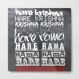 Hare Krishna Metal Print
