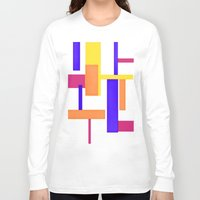 geo Long Sleeve T-shirts featuring Geo by lillianhibiscus