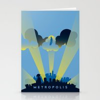 metropolis Stationery Cards featuring Metropolis by DGN Graphix