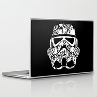 toilet Laptop & iPad Skins featuring Trooper by eARTh