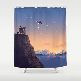 The Big Tripper Shower Curtain