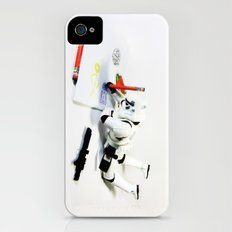 Drawing Droids iPhone (4, 4s) Slim Case