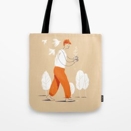 Growing Idea Tote Bag