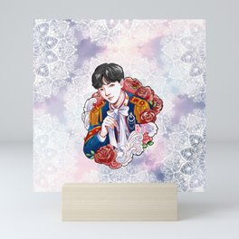 BTS JHOPE, King Hoseok, Kings of KPOP, Love Yourself, Boy With Luv Mini Art Print