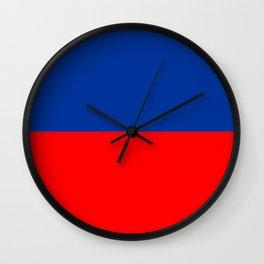 Echo Flag Wall Clock