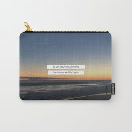Taking Chances Carry-All Pouch