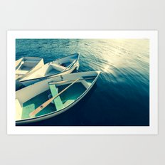 On the Water - Boats Art Print