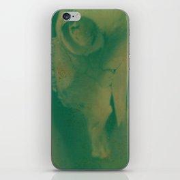 Cow Skull Polaroid iPhone Skin
