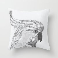 rio Throw Pillows featuring Rio by Amy Lawlor Creations