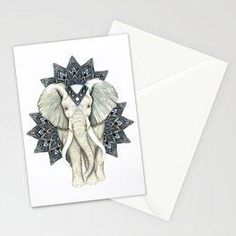 Zen Elephant Mandala Stationery Cards