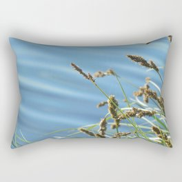 By the Pond Rectangular Pillow