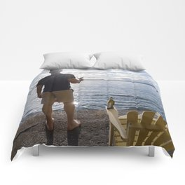 Sea View with Wine Comforters