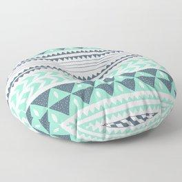 Winter Stripe Floor Pillow