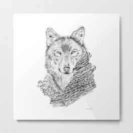 Dream about a Wolf Metal Print