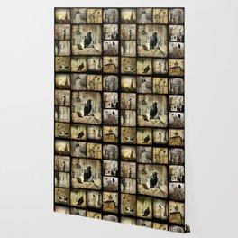 Gothic Squares Wallpaper