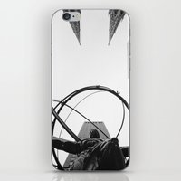 atlas iPhone & iPod Skins featuring Atlas by Evan Morris Cohen