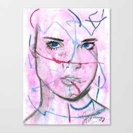 Gimme Gimme Gimme Canvas Print