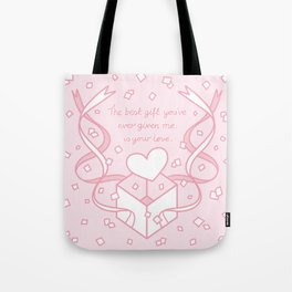 The Best Gift is your Love Tote Bag