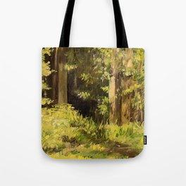 Woodland Landscape Nature Art Tote Bag